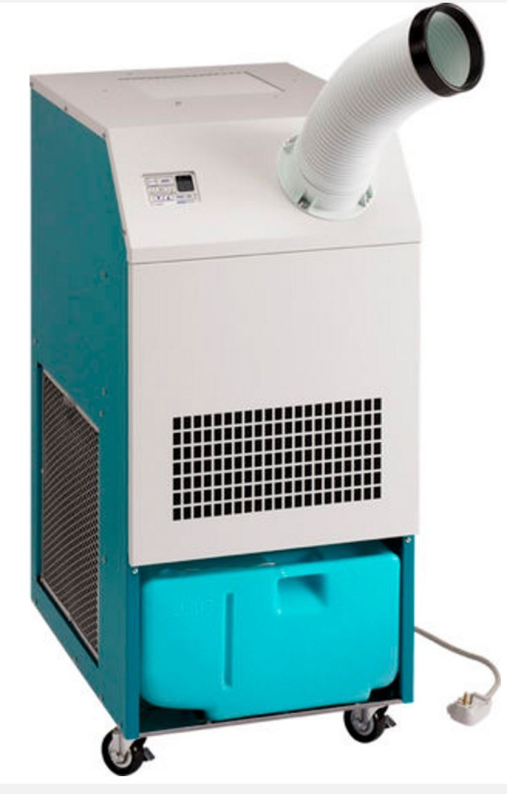 Industrial-portable spot air conditioner