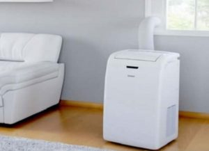 Front view of Portable Air Conditioner